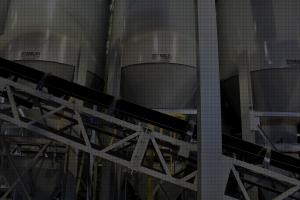 Bins and Conveyor